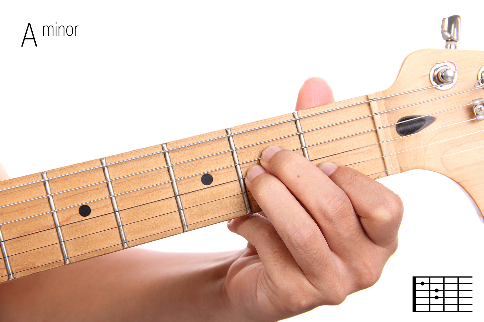 A Minor - Guitar Chords For Beginners