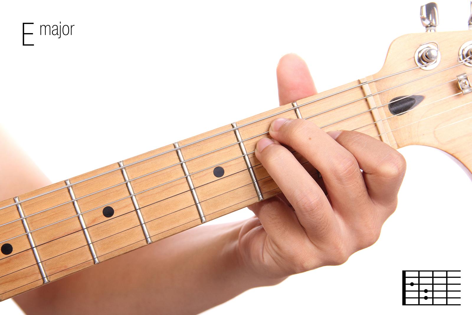 E Major - Guitar Chords For Beginners