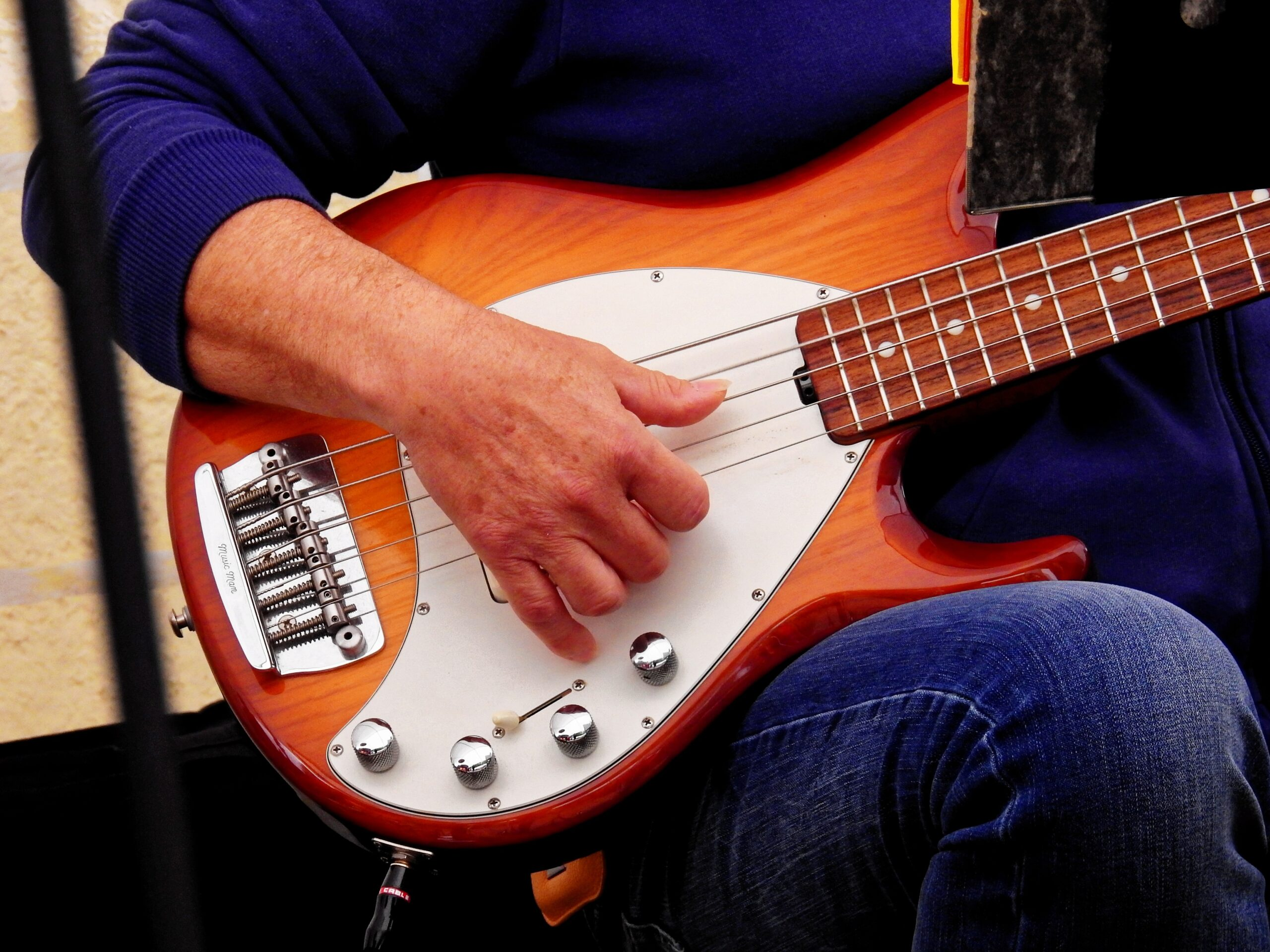 Man Playing Guitar | Bass Guitar for Beginners: A Definitive Guide To Learning