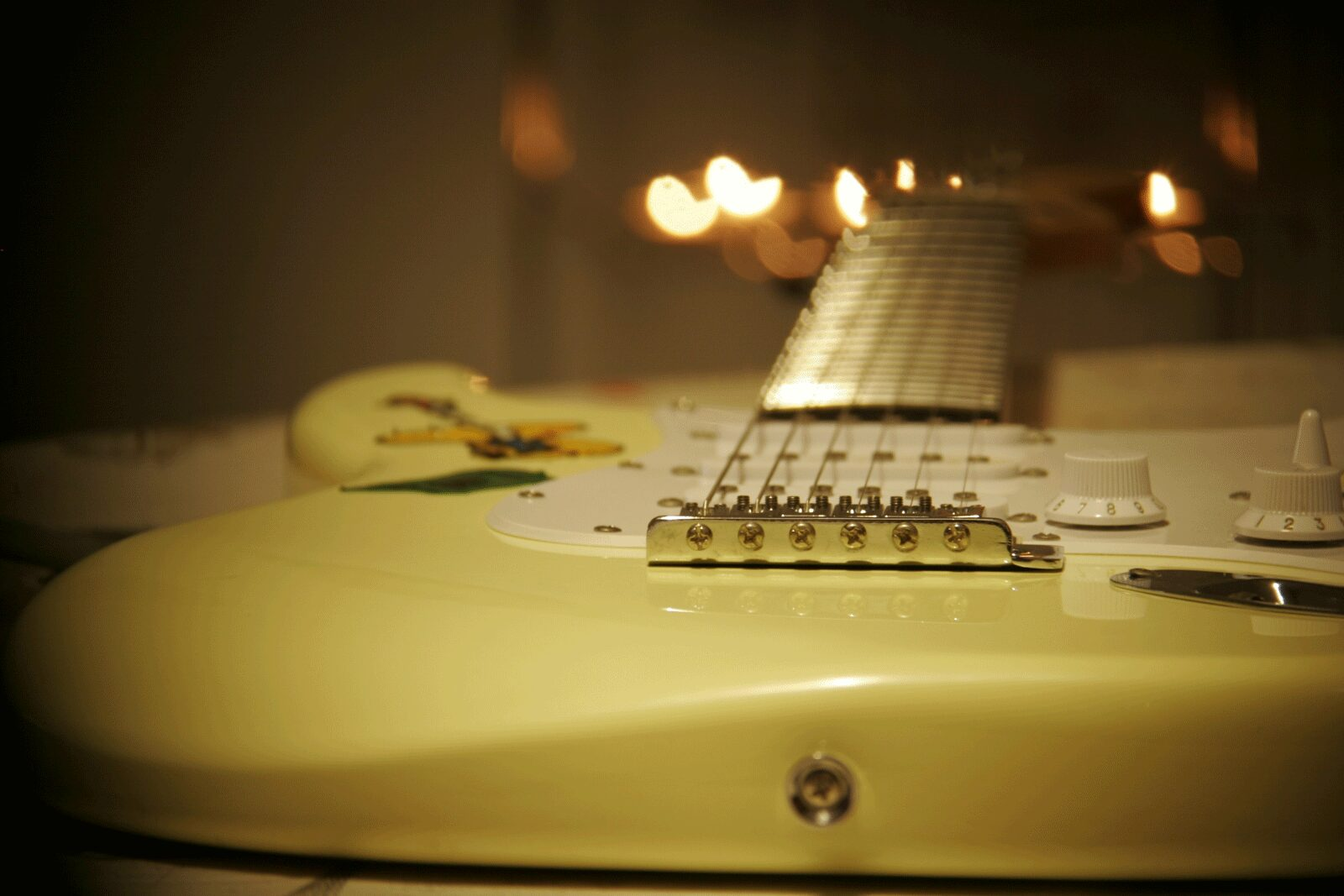 Yellow Electric Guitar | The Top 6 Techniques For Practicing Electric Guitar