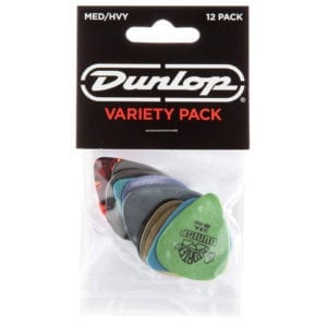 Dunlop PVP102 Pick Variety Pack Assorted - Medium/Heavy (12 Pack)