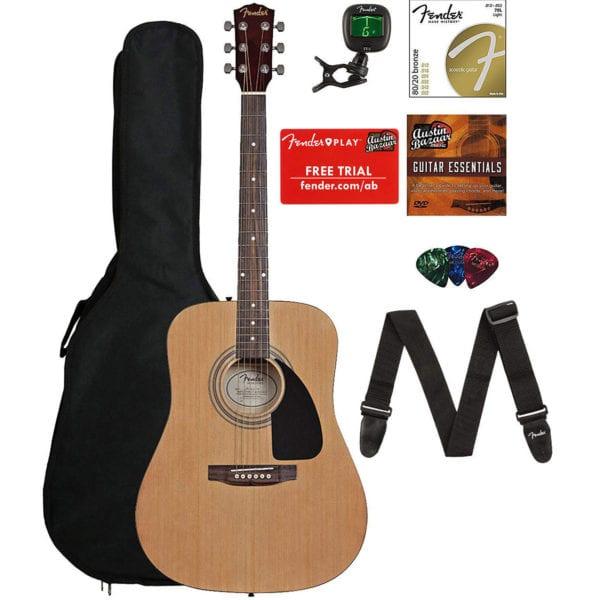 Fender FA-115 Acoustic Guitar Bundle