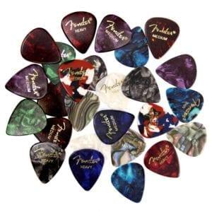 Fender Premium Picks Sampler - 24 Pack