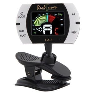 Groovy Center Real Tuner - Chromatic Clip-on Tuner