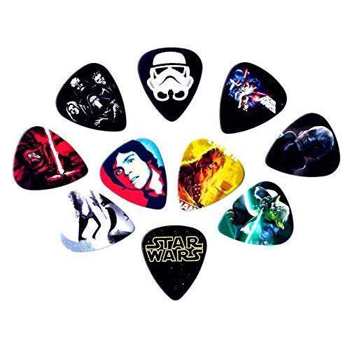 star wars guitar picks 10 pcs play guitars. Black Bedroom Furniture Sets. Home Design Ideas