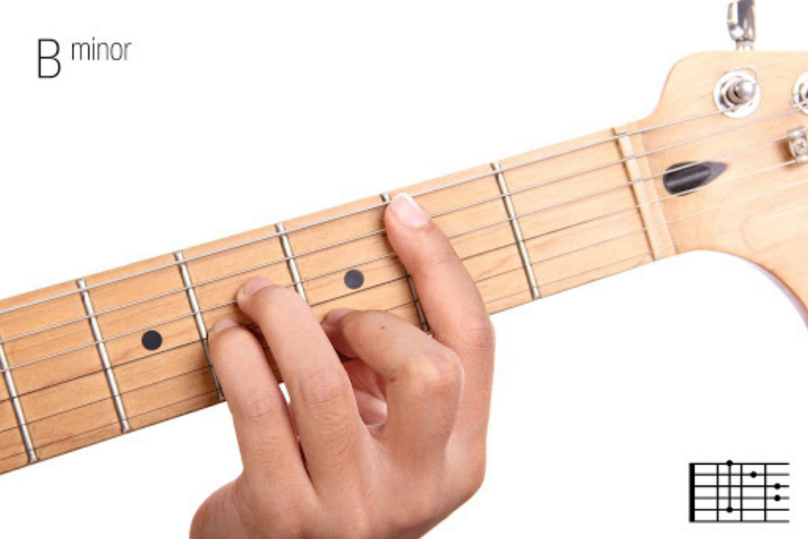 B Minor | Mastering The 10 Most Important Guitar Chords For Beginners