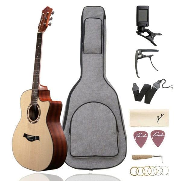 Ranch Cutaway Acoustic Guitar RH-01