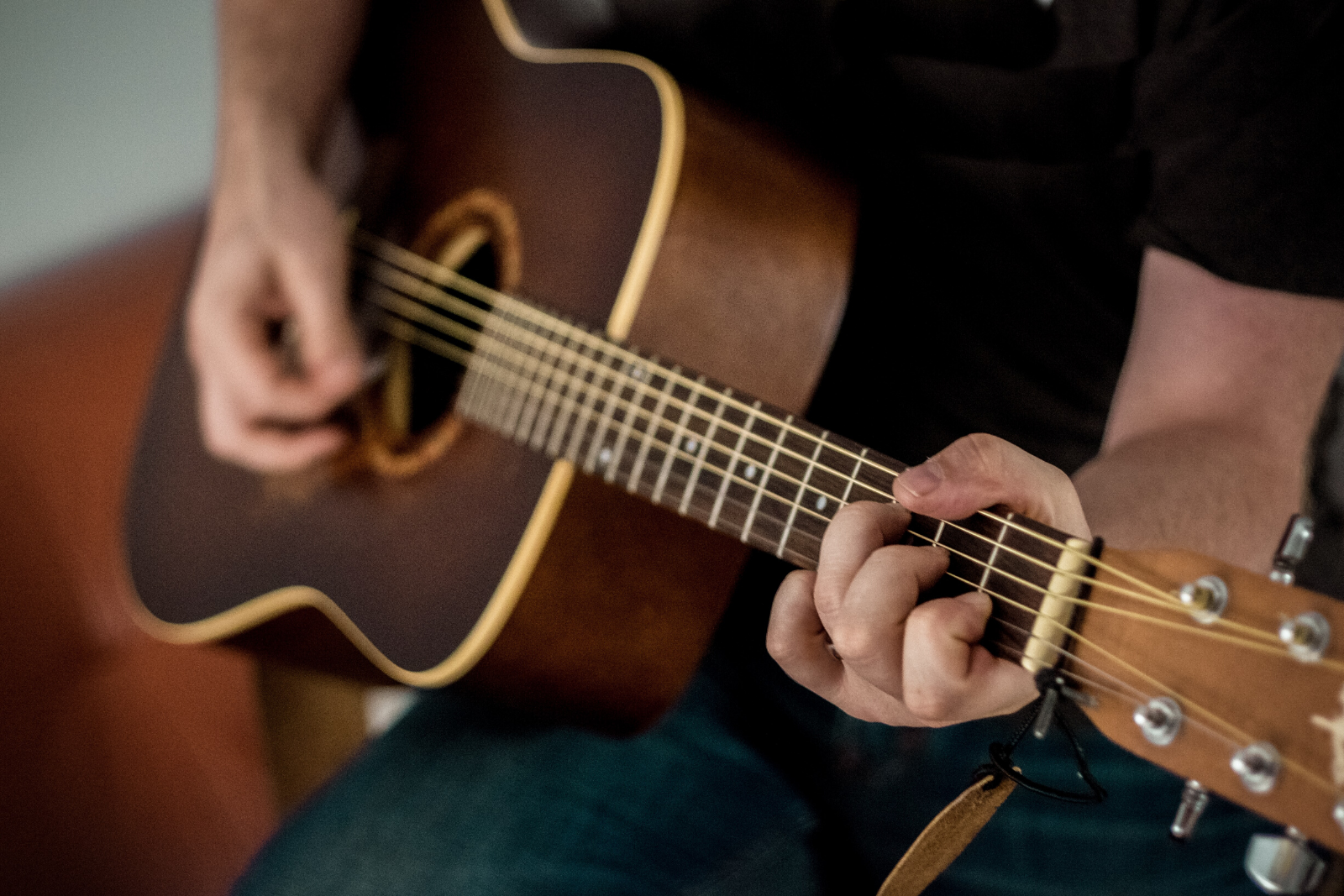 Man Playing Guitar | How To Play Guitar For Beginners: A Step-by-Step Guide