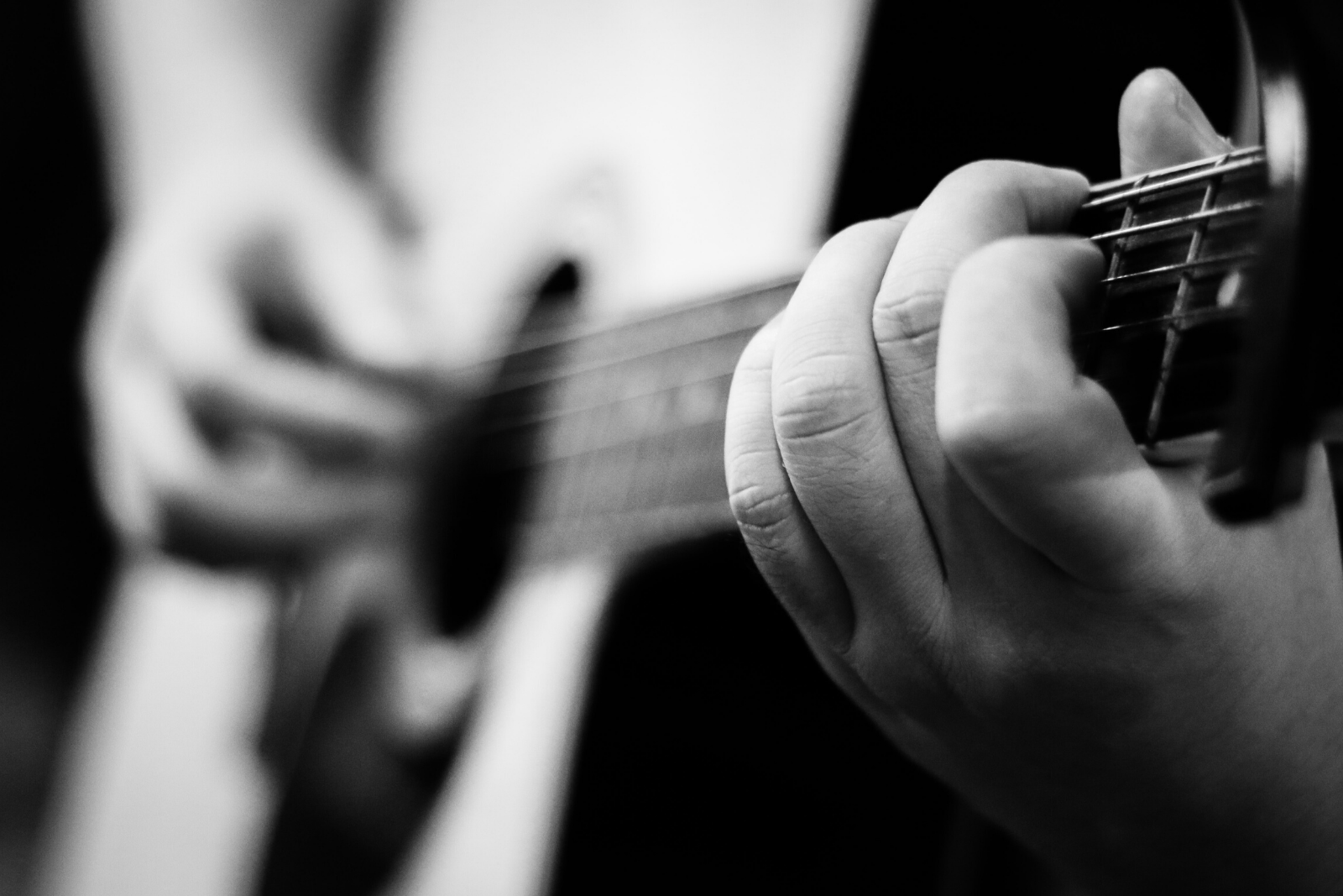 Man Playing Guitar | Mastering The 10 Most Important Guitar Chords For Beginners