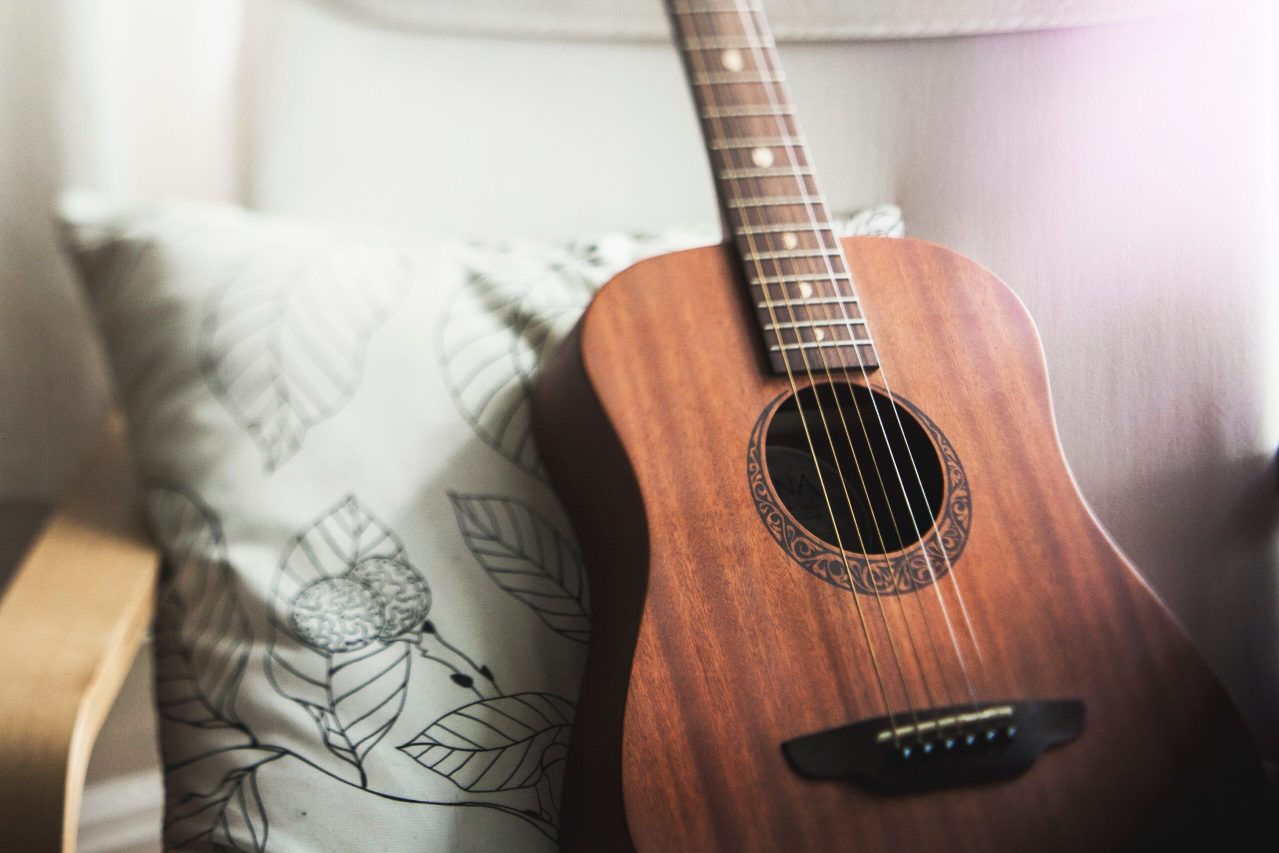 Brown Guitar - How To Play Guitar For Beginners: A Step-by-Step Guide