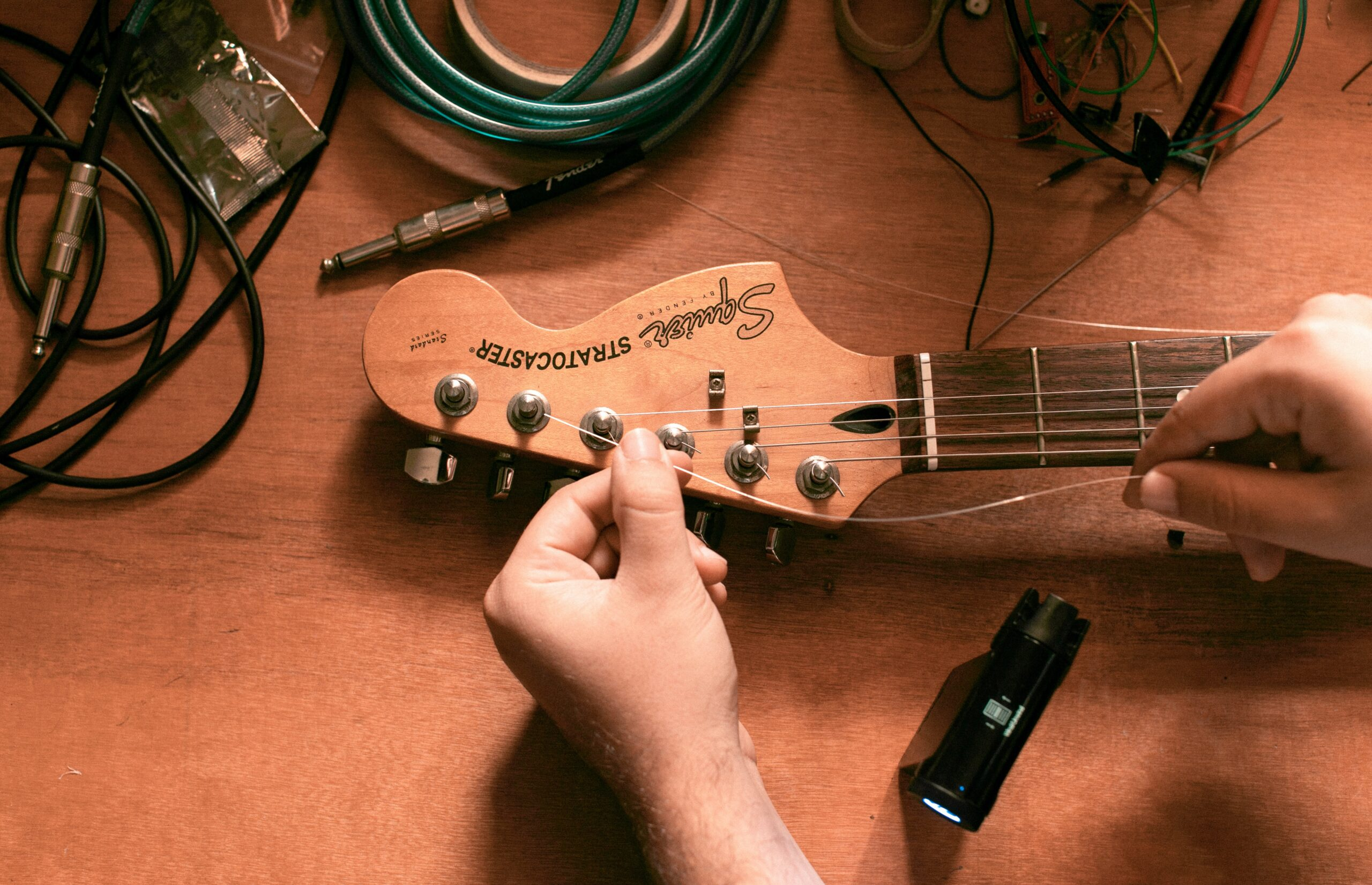 Electric Guitar With Tuner | A Beginner's Guide On How To Tune An Electric Guitar