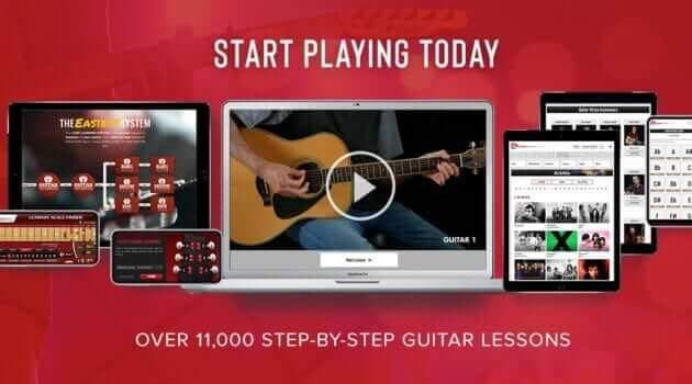 Guitar Lessons by Guitar Tricks - online guitar learning app