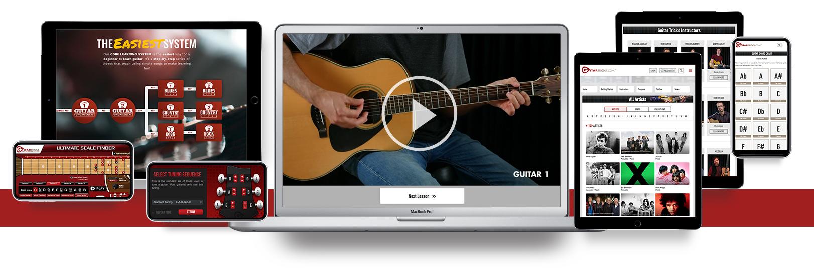 Best Online Guitar Lessons - Guitar Tricks