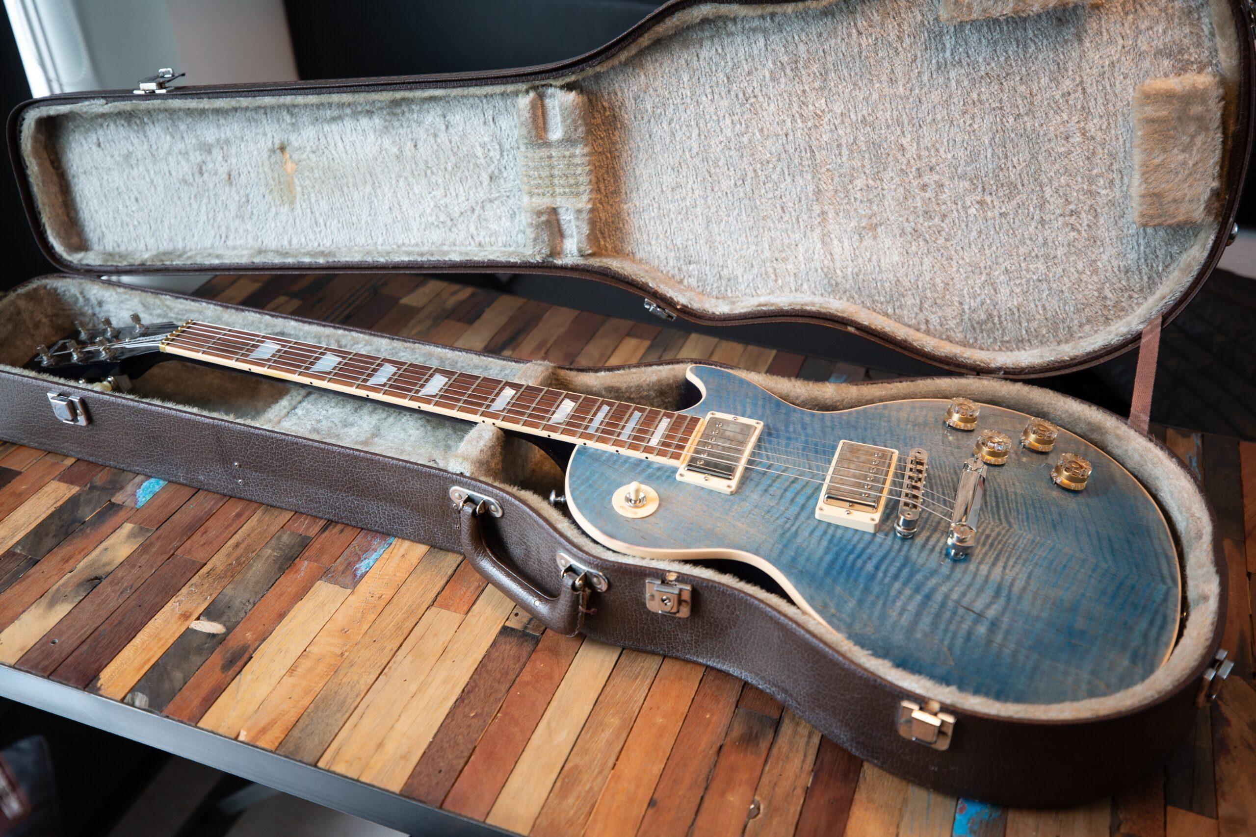 Blue Les Paul Electric Guitar | Understanding What Makes The Top 11 Types Of Guitar Unique